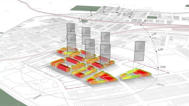 Parametric Urbanism - Floorplate Solar Performance