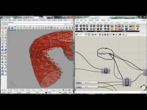 model of triangulated surface (digital toolbox tutorial)