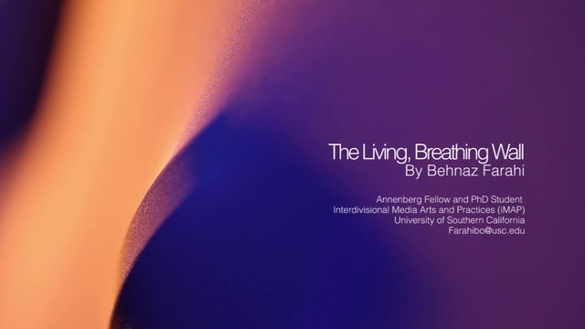 The Living, Breathing Wall