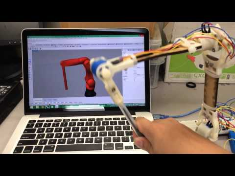 5 Axis robot arm controller based on Arduino, Grasshopper and Firefly.