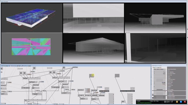 Design studies multi screen overview with vvvv