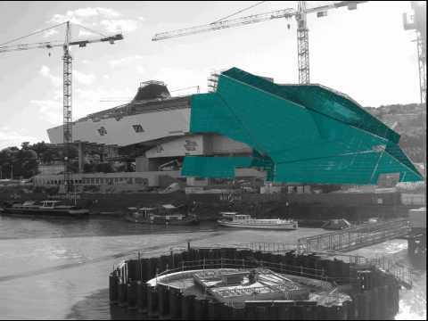 Musée des Confluences, 3D Building Information Modeling (BIM) model