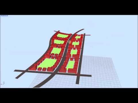 Parametric Urbanism Trial