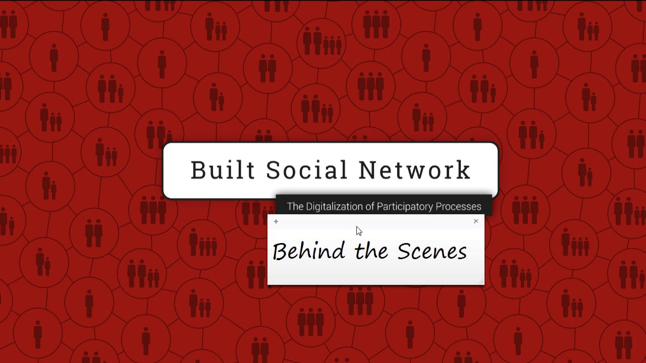 Built Social Network - Behind the Scenes