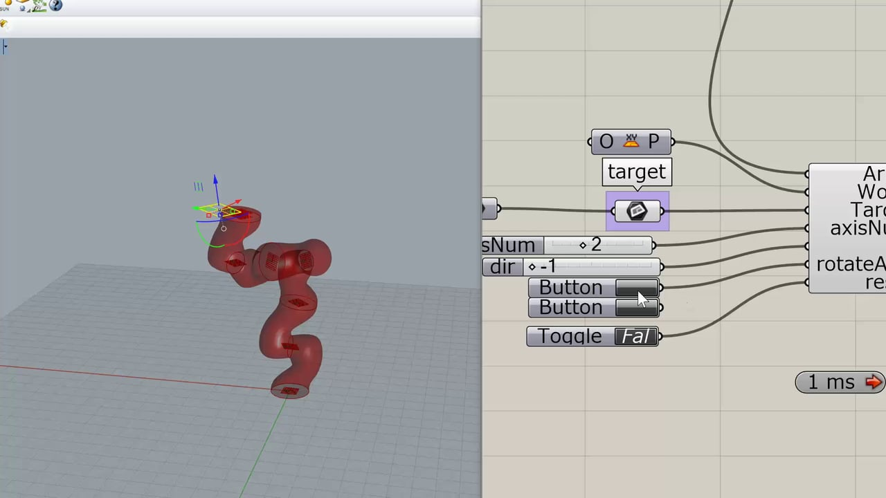 7 Axis Inverse Kinematics