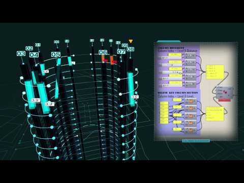 Series:A digital design work record of a high-rise building project