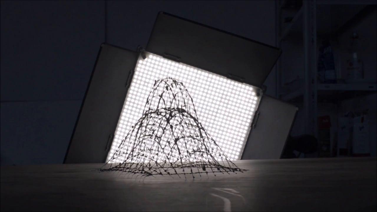 Fiber Spider - Generative Glasfaser-Raumfachwerke