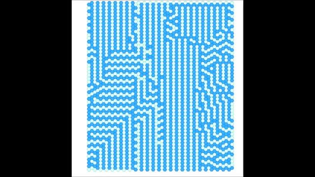 cellular automata on Hexagonal grid