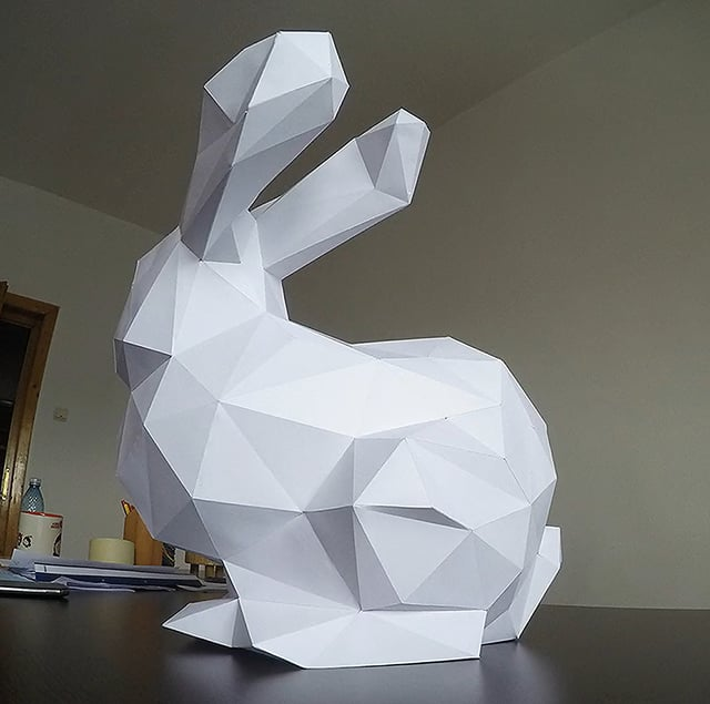 Stanford Bunny fabrication