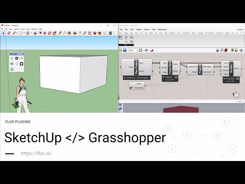 SketchUp to Grasshopper