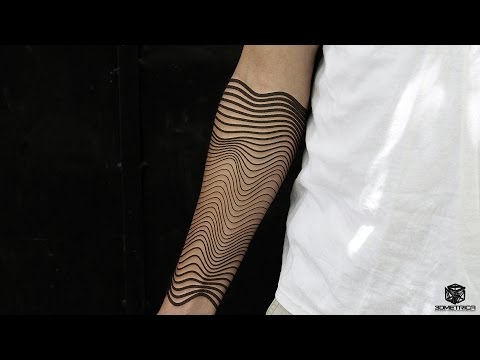 Parametric Tattoo, Generative Tattoo, Algorithmic Tattoo, Geometric Tattoo