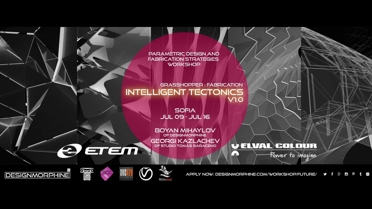 DesignMorphine_IntelligentTectonics V1.0_Promo