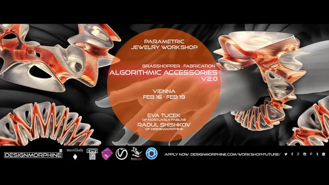 DesignMorphine_Algorithmic Accessories V2.0_Promo