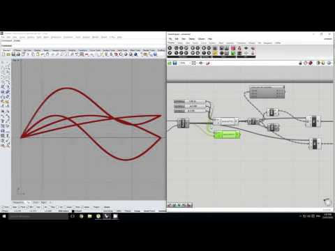 Grasshopper - Sine Functions and Transformations