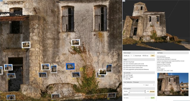 1_Orient_scale_Sfm Point Cloud_Volvox for Grasshopper_HumanUI.
