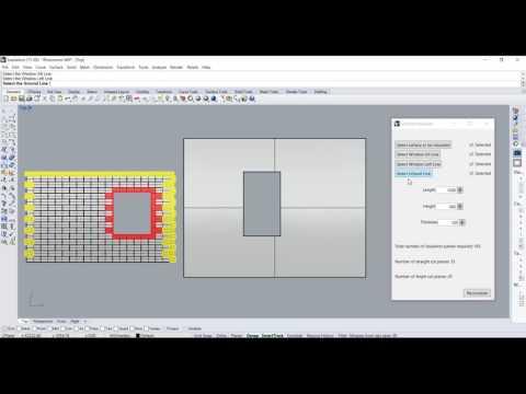 Rhino Python Eto User Interface Facade Cladding Part 2