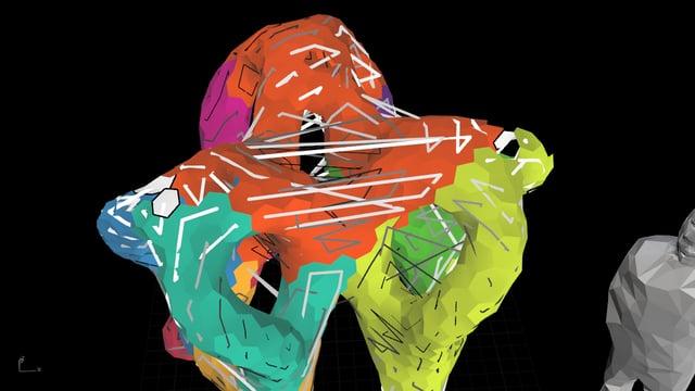 Archilace Sculpture: Walk+Assemble