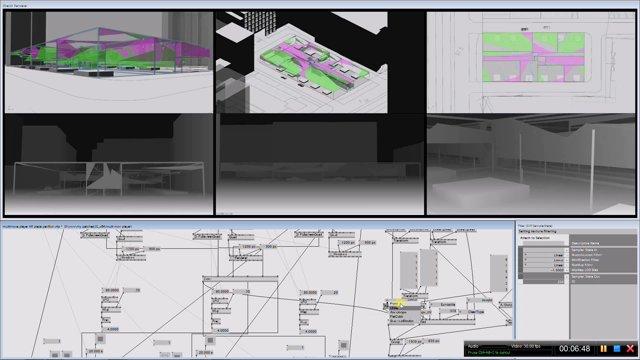 KdT-AR Pavilion Design Studies monitoring