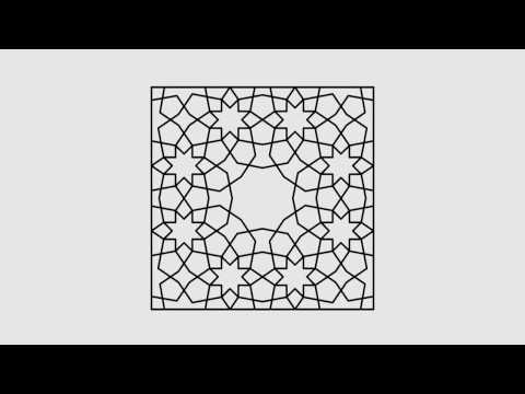 Magical Persian Girih Pattern