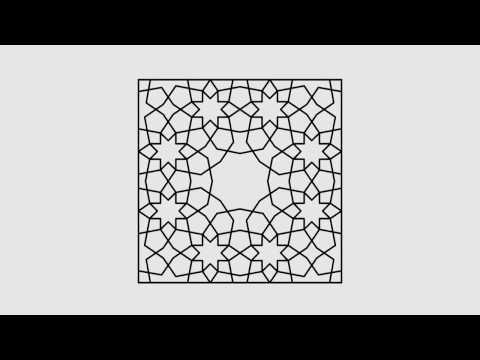 Magical Persian Girih Pattern
