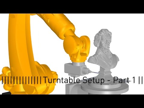 Setting up a Turntable with Grasshopper and KUKA - Part 1