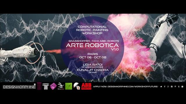 DesignMorphine_ArteRoboticaV1.0_Promo