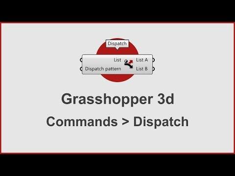 Grasshopper Commands -  Dispatch