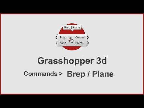 Grasshopper Commands -  Brep/Plane