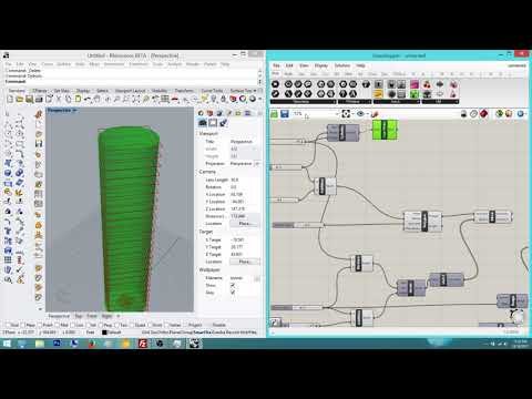 Grasshopper Tutorial Part 8: Diamond Tower Jeddeh Massing