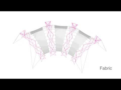 Torus4 Pavilion | Deployable Structure | Parametric Design