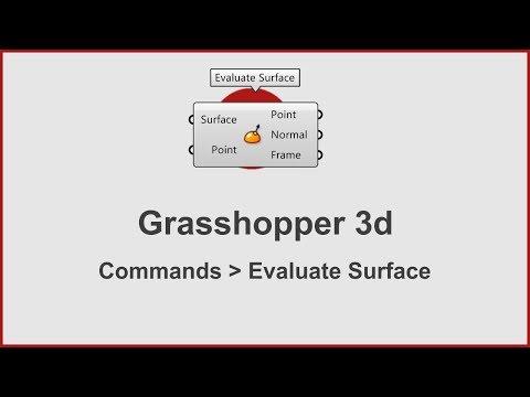 Grasshopper Commands -  Evaluate Surface