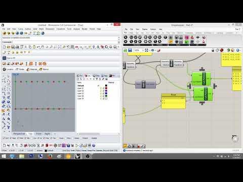 Grasshopper Tutorial Part 3c: List Manipulation with Cull Pattern
