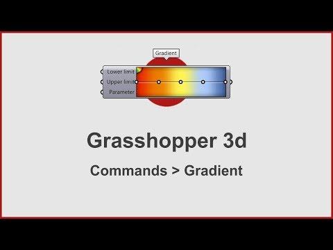Grasshopper Commands -  Gradient
