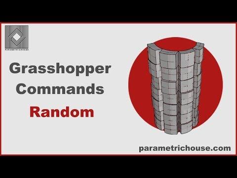 Grasshopper Commands -  Random