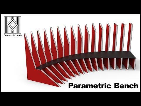Parametric Bench - Grasshopper Definition
