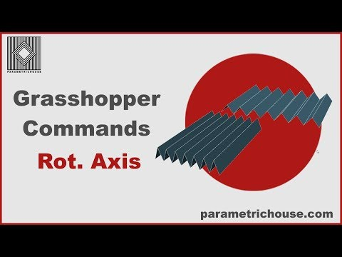 Grasshopper Tutorial: Commands - Rotate Axis