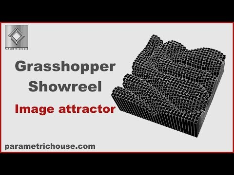 Grasshopper Showreel : Image Attractor