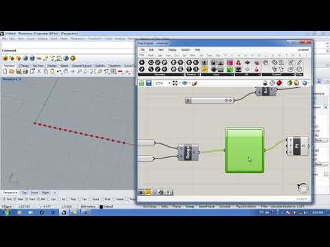 Grasshopper tutorial #21 (Graph Mapper)
