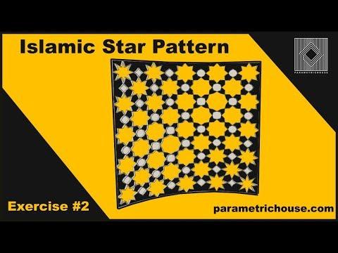 Grasshopper Exercise : Islamic Star Pattern