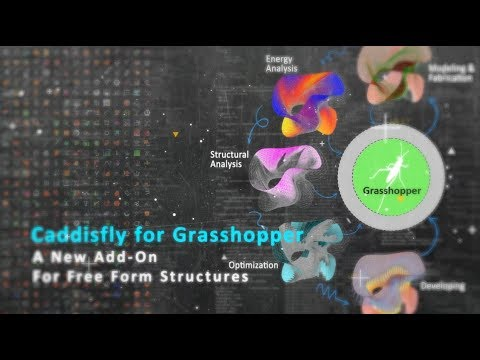 Intro to Caddisfly: An Add-on for Grasshopper