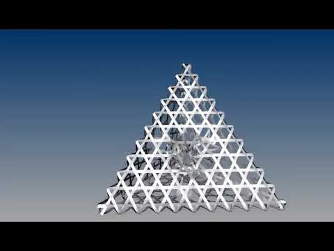 Triaxial Weave - Tetrahedron