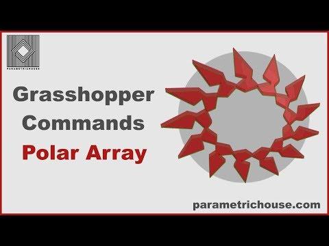 Grasshopper Tutorial - Polar Array