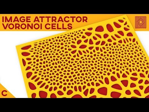 Lesson #34 : Image Voronoi Attractor