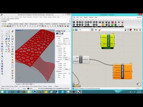 Grasshopper Tutorial: Surface Morph and Reparameterize