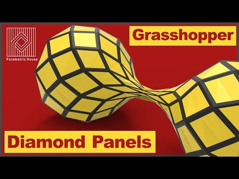 Lunchbox Grasshopper Tutorial (Diamond Panels)