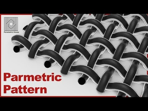 Parametric Pattern - Weave
