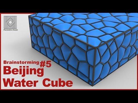 Brainstorming #5: Beijing Water Cube