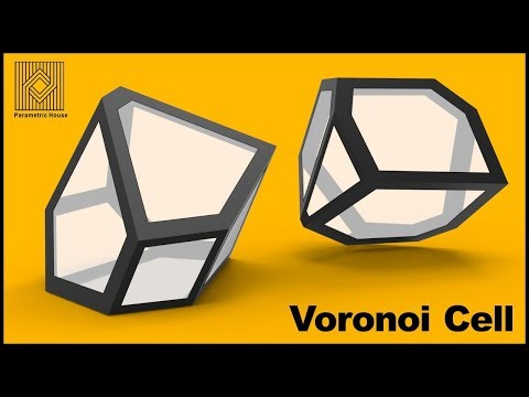 Voronoi Cell  - Grasshopper Tutorial