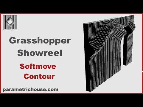 Grasshopper Showreel-Softmove and Contour