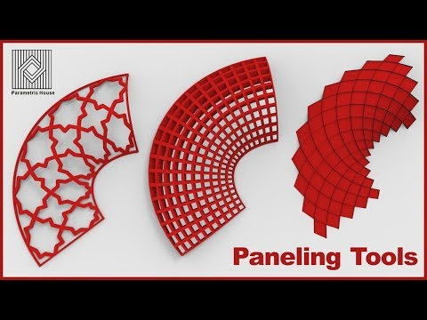 Rhino Paneling Tools tutorial